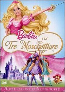 DVD BARBIE E LE TRE MOSCHETTIERE
