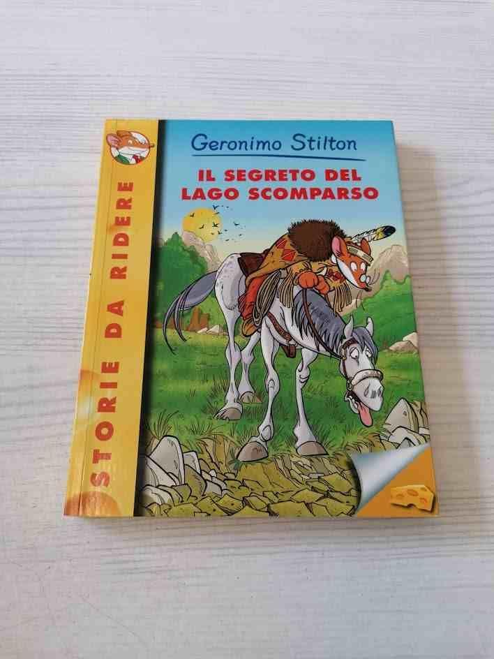 GERONIMO STILTON IL SEGRETO DEL LAGO SCOMPARSO