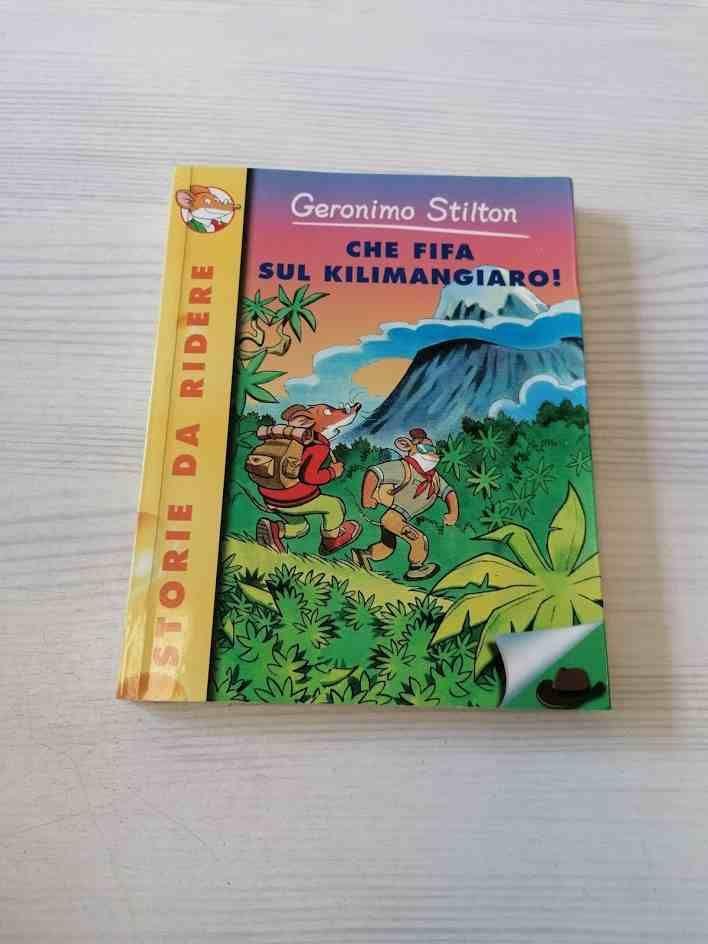 GERONIMO STILTON CHE FIFA SUL KILIMANGIARO