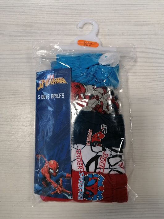 5 SLIP SPIDERMAN NUOVE