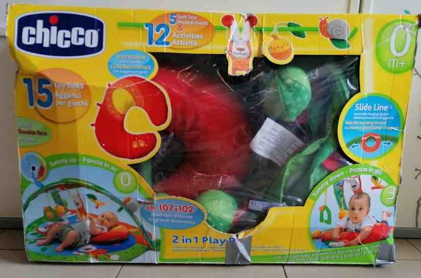 PALESTRINA 2 IN 1 PLAY PAD CHICCO