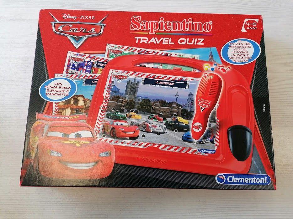 SAPIENTINO TRAVER QUIZ CARS CLEMENTONI