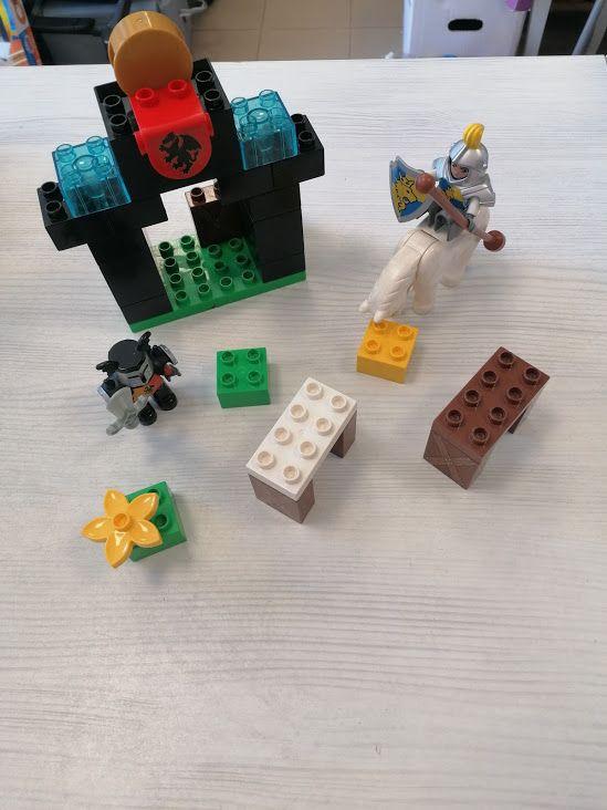 SET CAVALIERE E SENTINELLA LEGO DUPLO*
