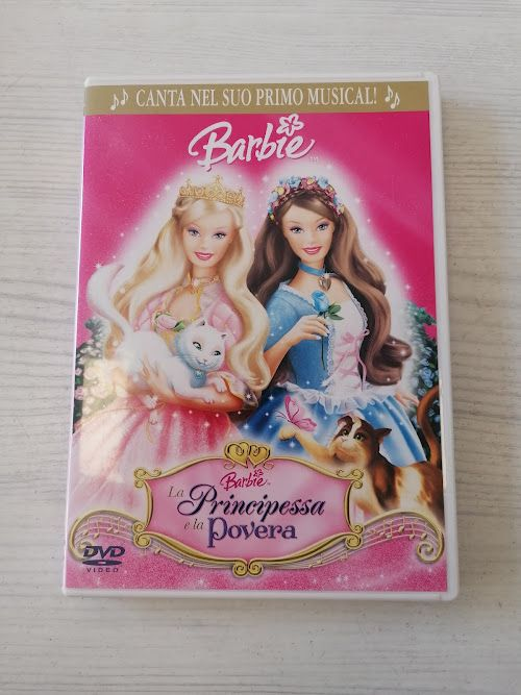 DVD BARBIE LA PRINCIPESSA E LA POVERA