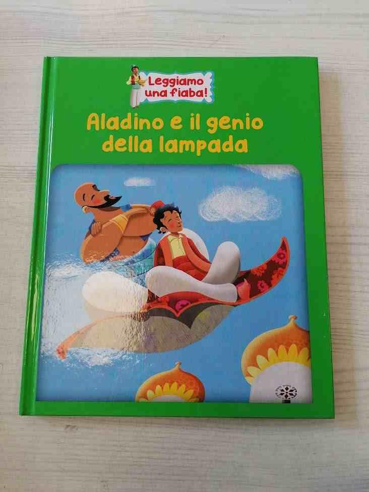 ALADINO E IL GENIO DELLA LAMPADA + CD