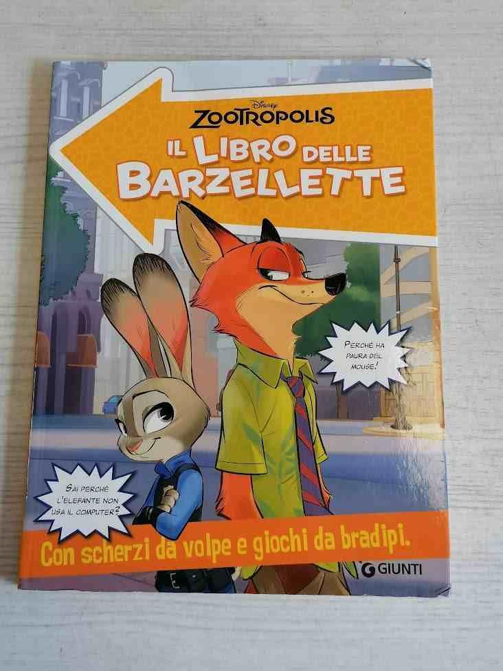 IL LIBRO DELLE BARZELLETTE ZOOTROPOLIS